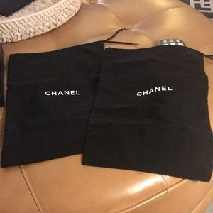 Chanel dust bags new